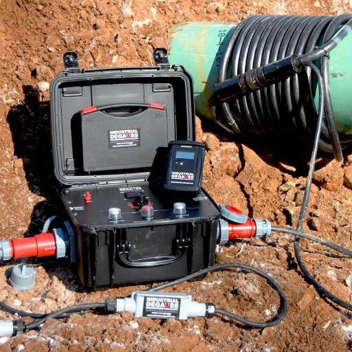 IDMAG System - Pipeline Demagnetizer