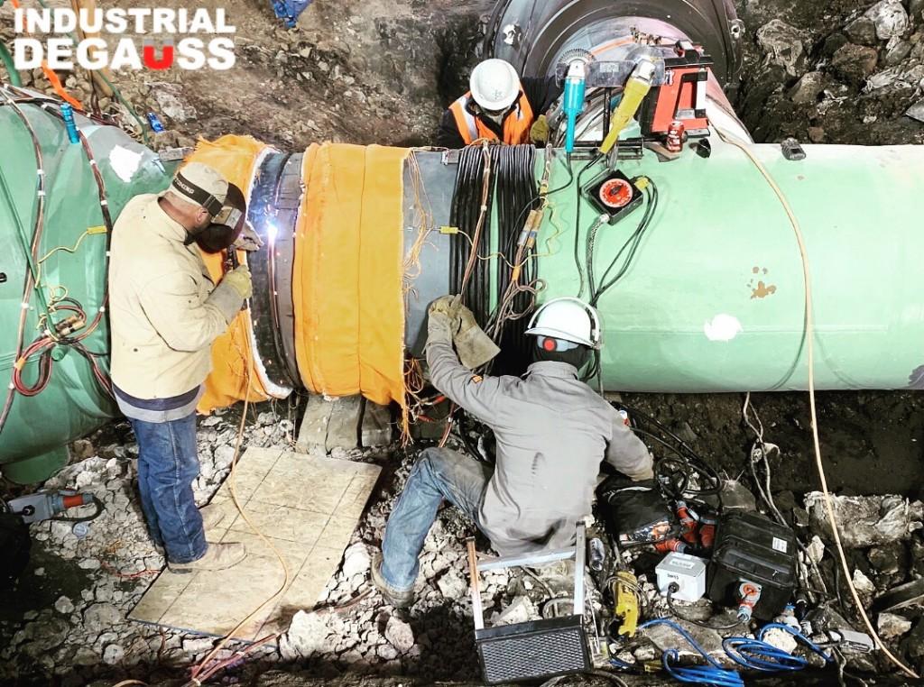 Magnetized Pipe at Cheyenne Hub Enhancement